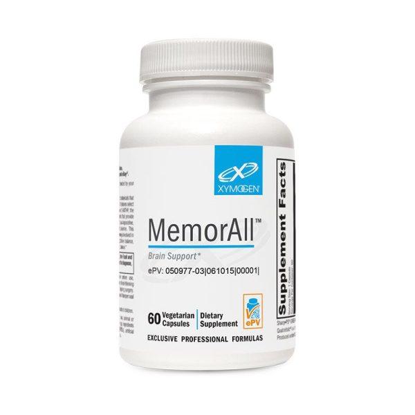 Xymogen MemorAll Bottle