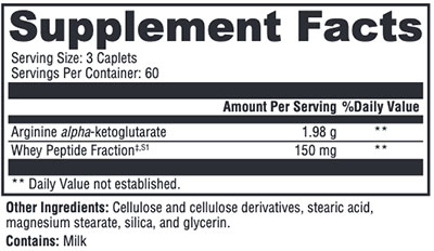 Xymogen N.O.max ER Supplement Facts