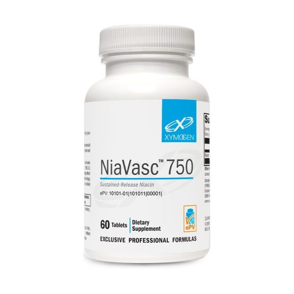 Xymogen NiaVasc 750 Bottle
