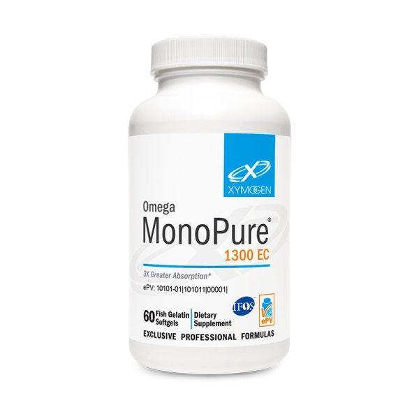 Xymogen Omega MonoPure 1300 EC Bottle