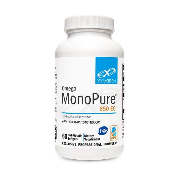 Xymogen Omega MonoPure 650 EC Bottle