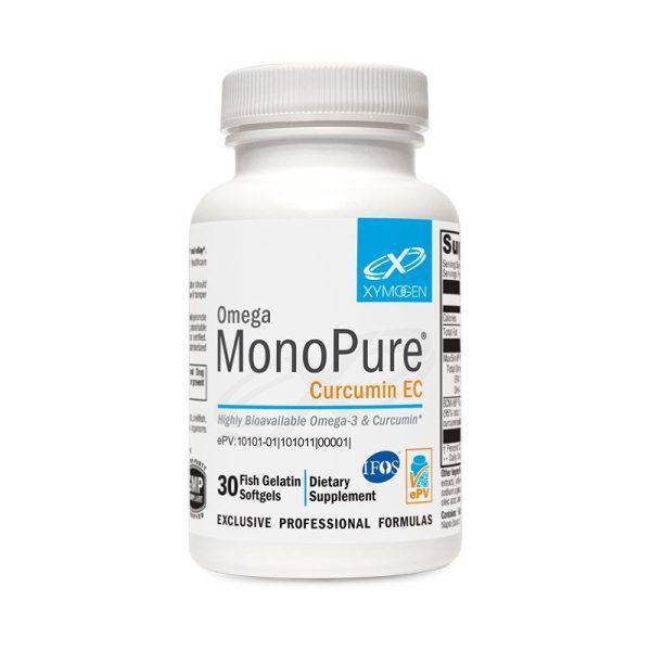 Xymogen Omega MonoPure Curcumin EC Bottle