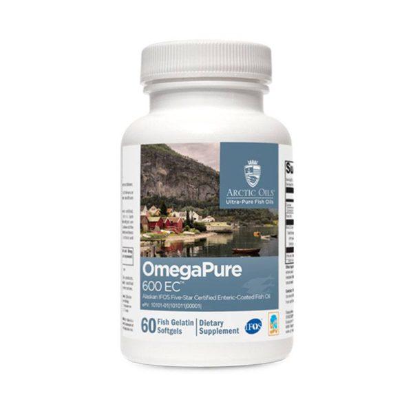 Xymogen OmegaPure 600 EC Bottle