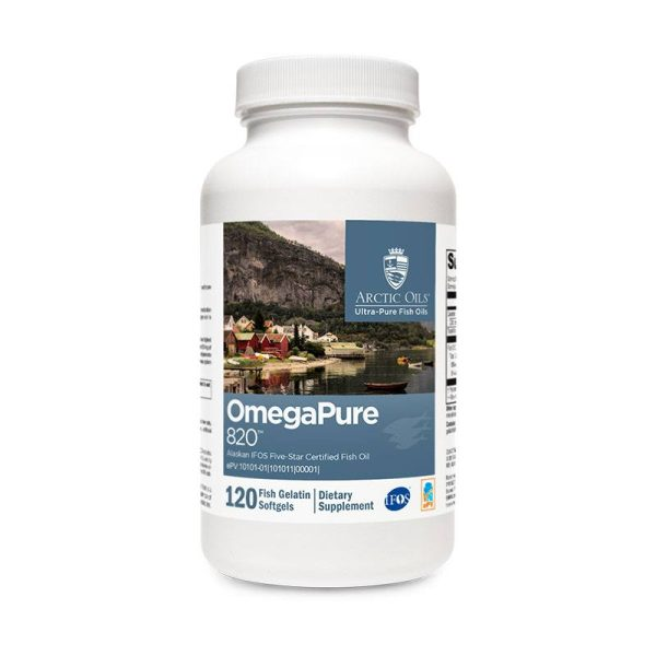 Xymogen OmegaPure 820 Bottle