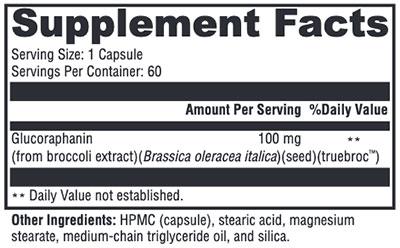 Xymogen OncoPLEX ES Supplement Facts