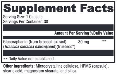 Xymogen OncoPLEX Supplement Facts