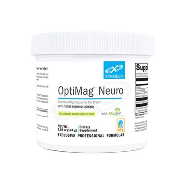 Xymogen OptiMag Neuro Lemon-Lime Bottle