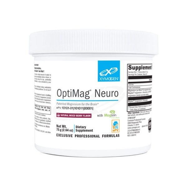 Xymogen OptiMag Neuro Mixed Berry Bottle