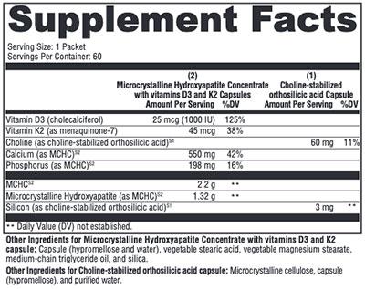 Xymogen OSAplex MK-7 Supplement Facts