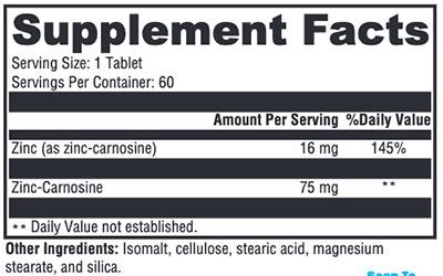 Xymogen PepciX Supplement Facts
