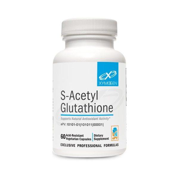 Xymogen S-Acetyl Glutathione Bottle