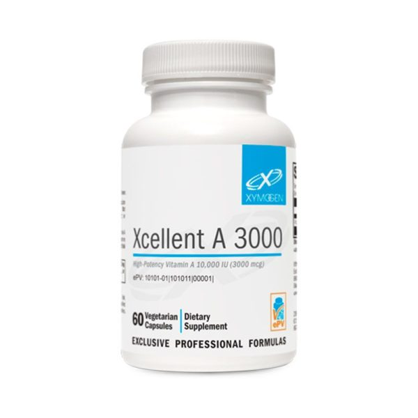 Xymogen Xcellent A 3000 Bottle