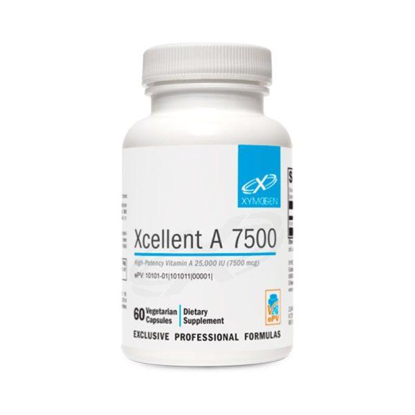 Xymogen Xcellent A 7500 Bottle